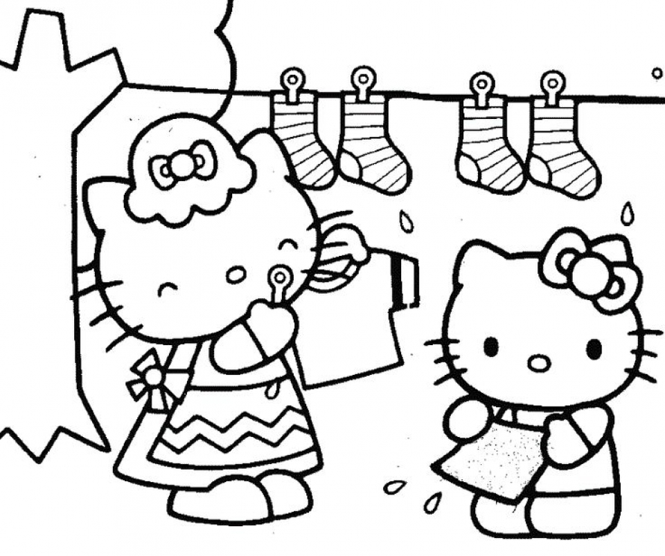 Hello Kitty Coloring Pages for Girl   qm6cb