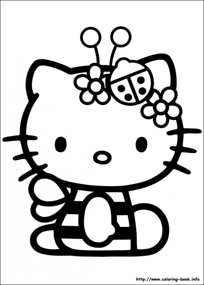 Get This Hello Kitty Coloring Pages Free Am47v