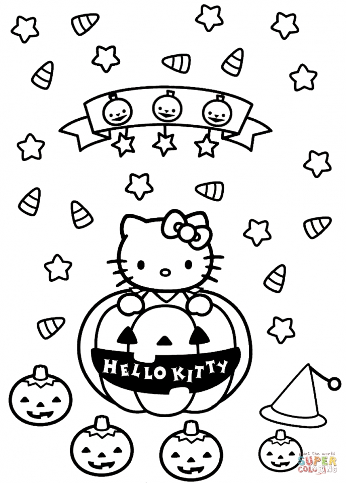 hello kitty coloring pages halloween   73bcl