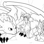 How to Train Your Dragon Coloring Pages   74516