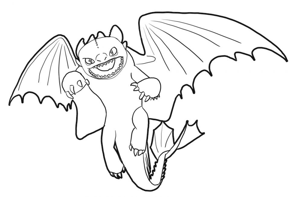 Get This How To Train Your Dragon Coloring Pages Printable