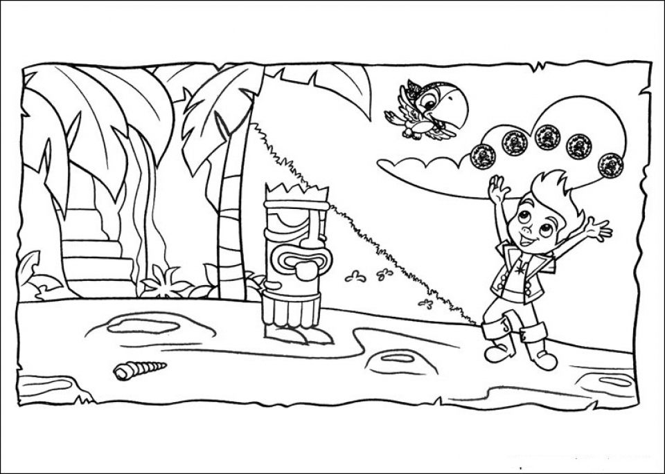 20 Free Printable Jake And The Neverland Pirates Coloring Pages Jake And The Neverland Coloring Pages To Print