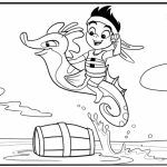 Jake and The Neverland Pirates Coloring Pages Disney Jr   63nvy