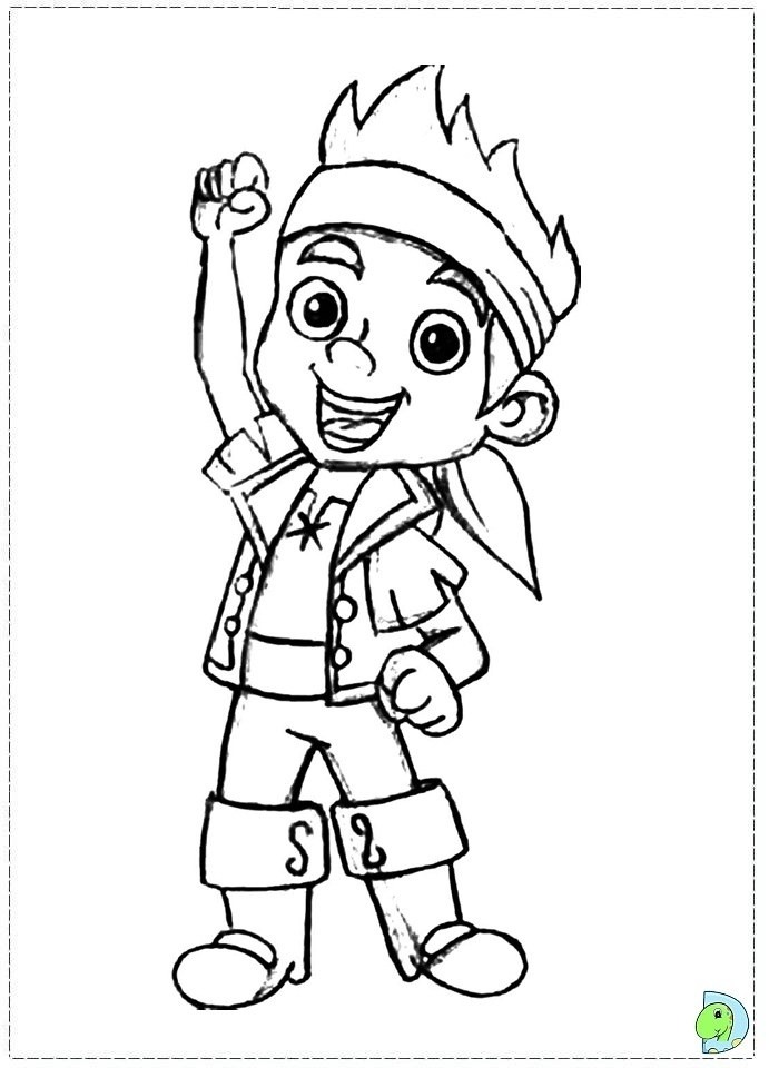 Get This Jake and The Neverland Pirates Coloring Pages Free rxc3a !