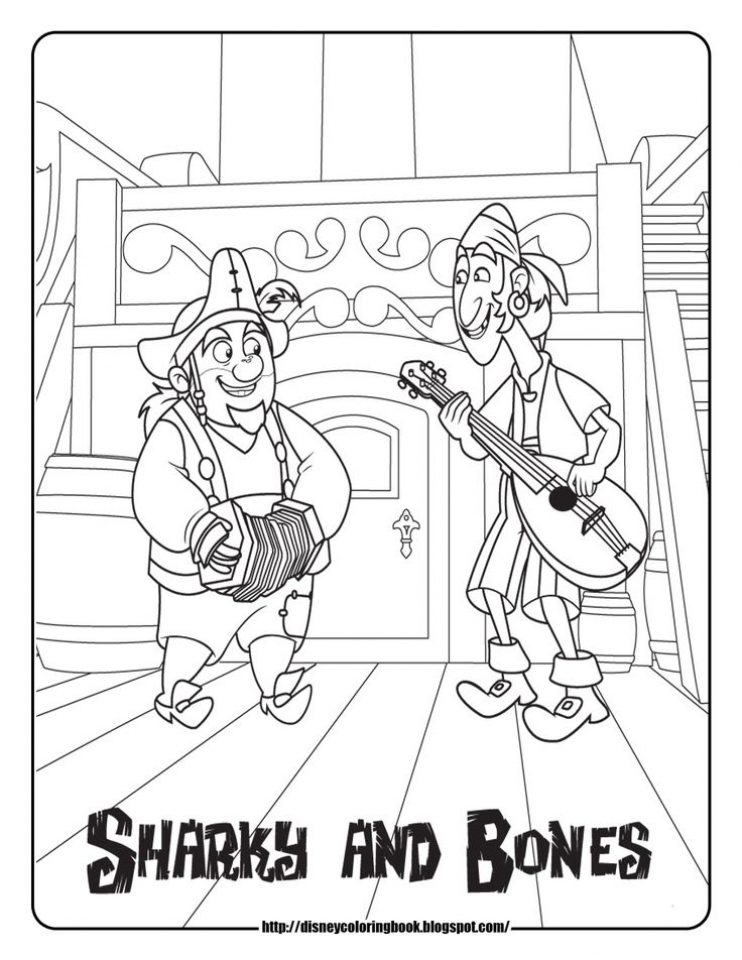 Jake and The Neverland Pirates Coloring Pages Online   ivn5l