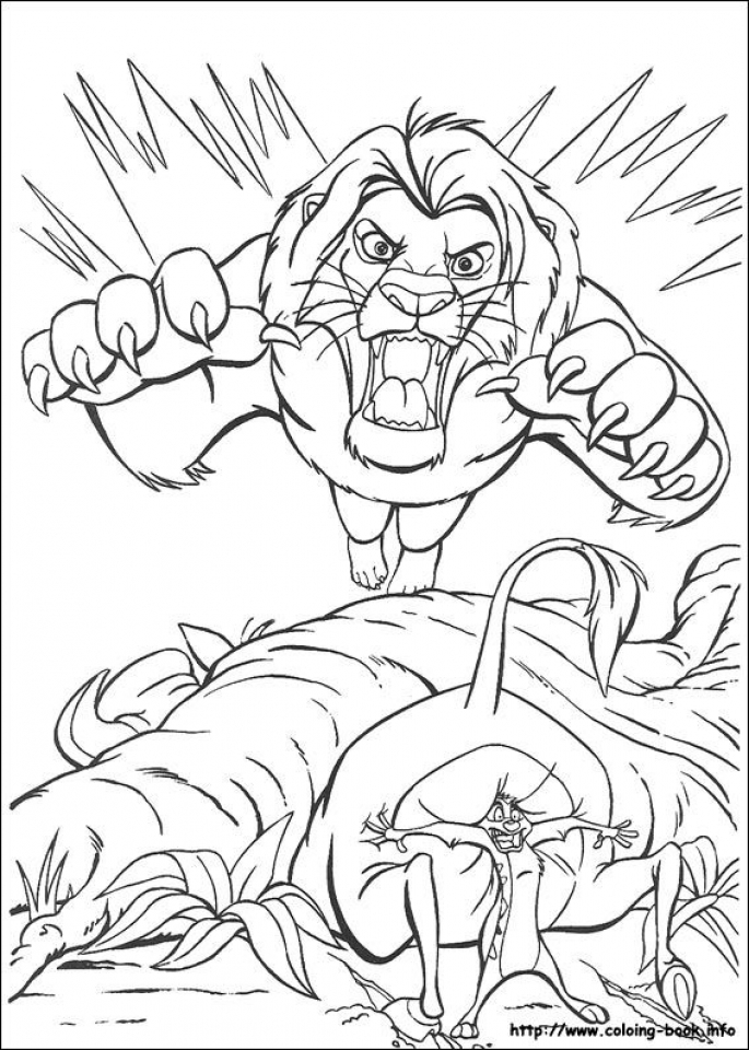 Lion King Coloring Pages Disney   47ae