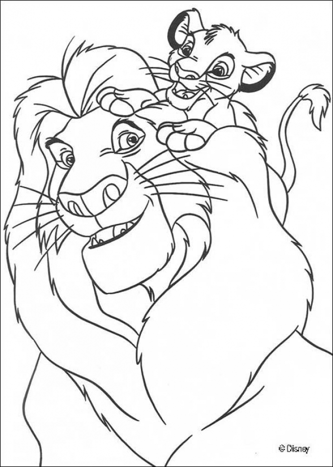 Lion King Coloring Pages Online   u789d