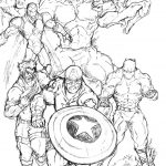 marvel avengers coloring pages - 74nd9
