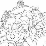 marvel avengers coloring pages   8dbem