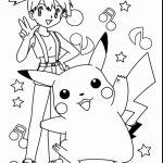 Misty and pikachu coloring pages   igf56