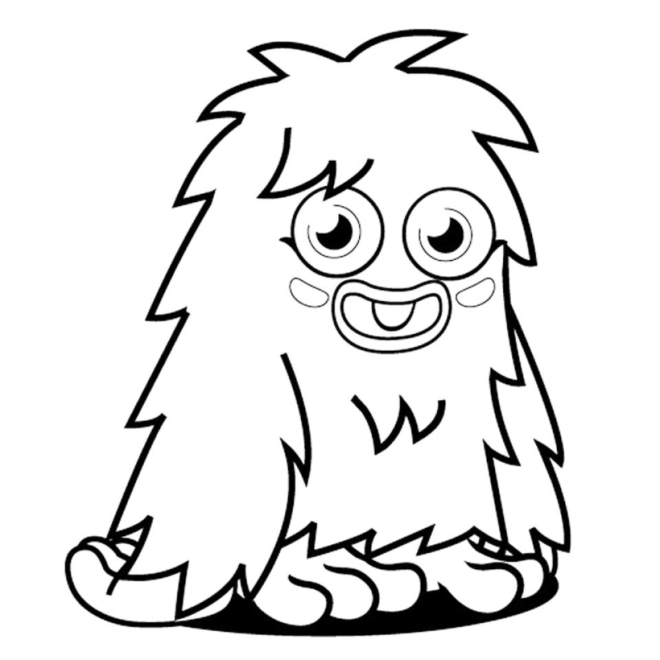 Monster Coloring Pages for Kids   31529