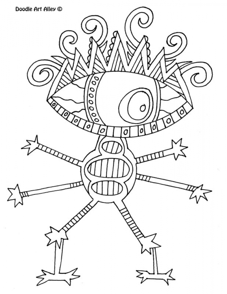 Monster Coloring Pages for Toddlers   ycxb4h