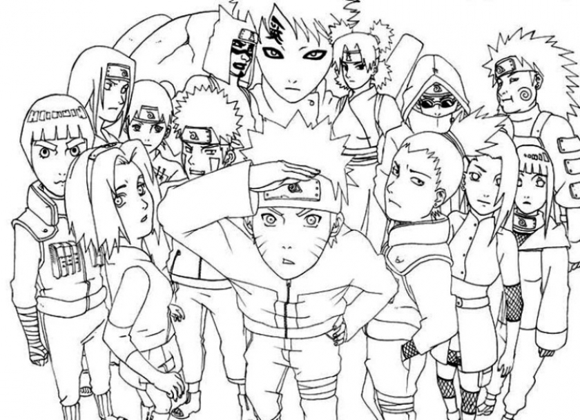 Naruto Shippuden Coloring Pages   61731