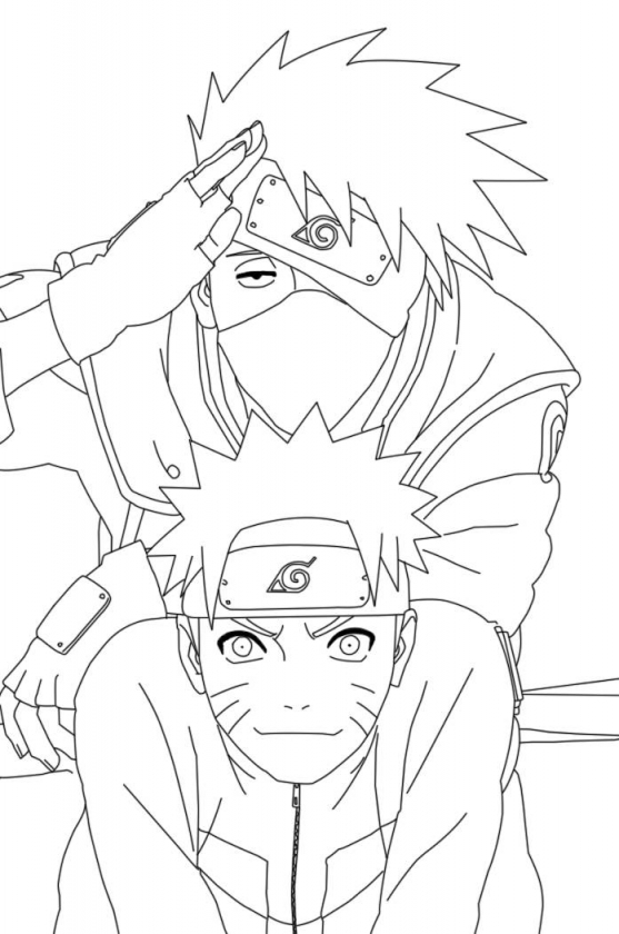 Naruto Shippuden Coloring Pages   90561