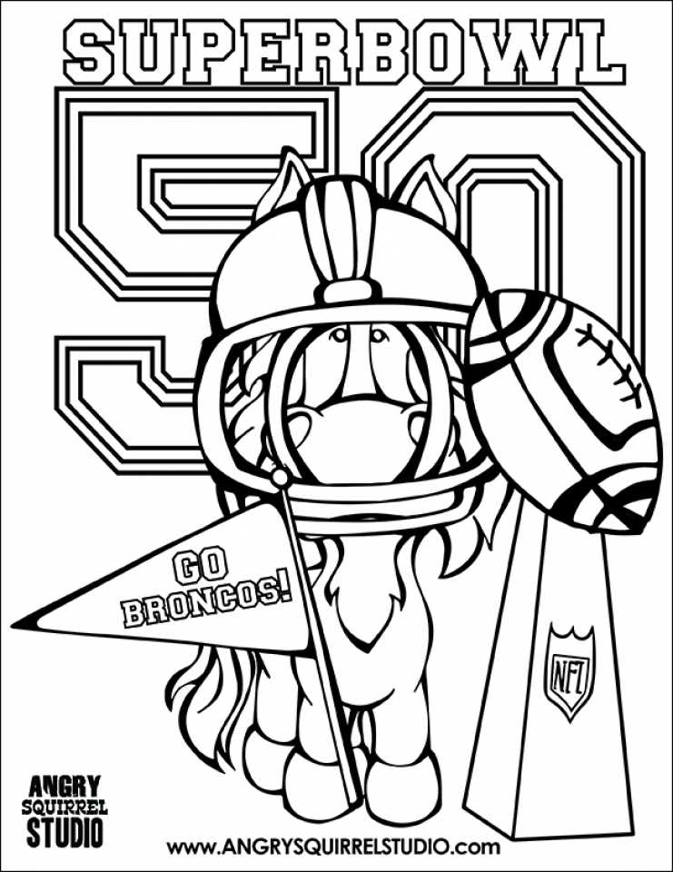 Get This NFL Coloring Pages Printable 4av0l