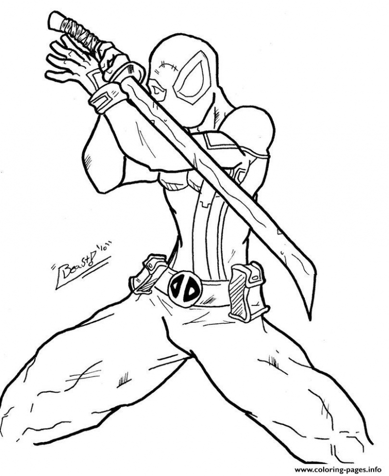 Ninja Coloring Pages Free Printable   t3658