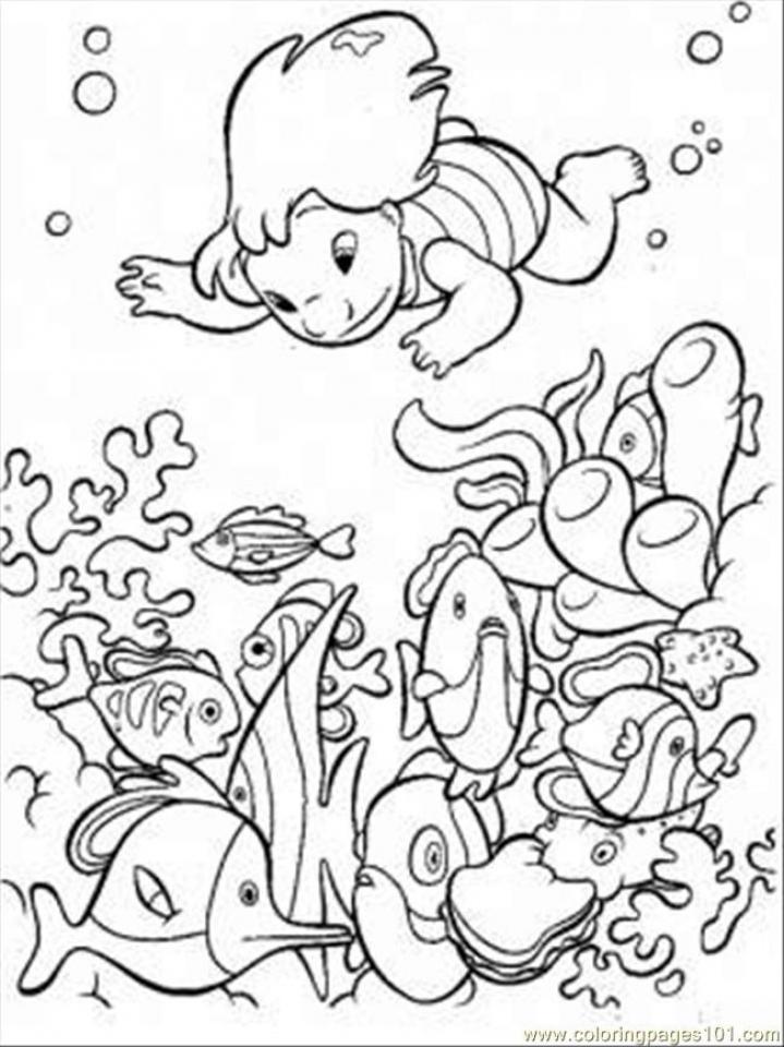Ocean Coloring Pages Printable   way3n