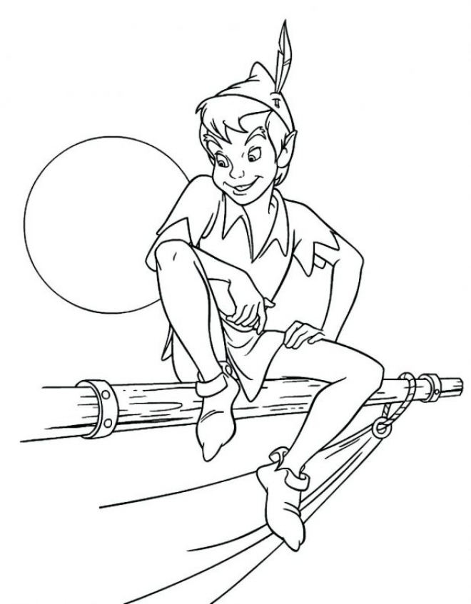 Peter Pan Coloring Pages Disney Printable   ahex7