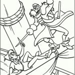 Peter Pan Coloring Pages Disney Printable   yexj1