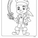 Pirate Jake Coloring Pages   73122