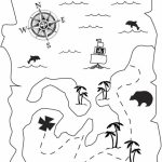 Pirate Map Coloring Pages   41bct