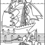 Pirate Ship Coloring Pages Printable   41552