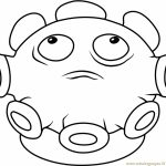 Plants Vs. Zombies Coloring Pages Kids Printable   67341