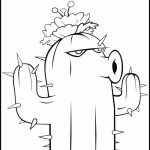 Plants Vs. Zombies Coloring Pages Printable   plt41
