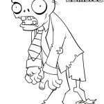 Plants Vs. Zombies Coloring Pages to Print   8571a