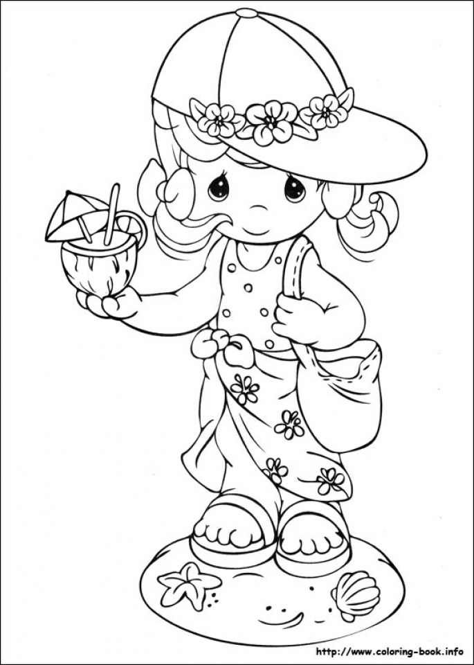 Get this precious moments coloring pages free for toddlers for Precious moments halloween coloring pages