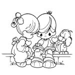 Precious Moments Coloring Pages to Print for Free   7sg2