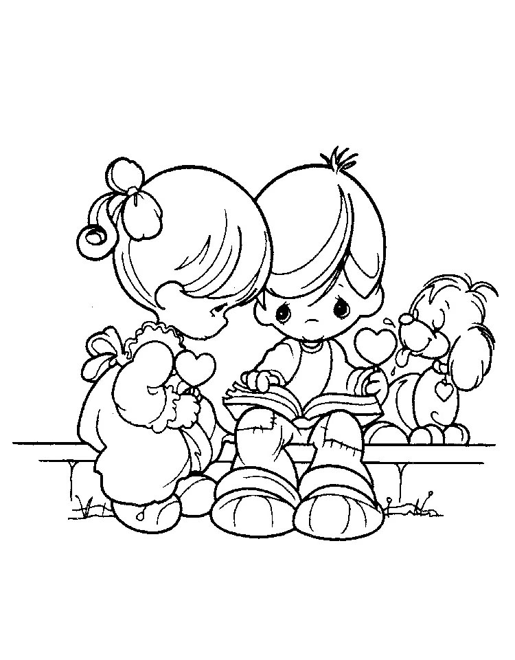 Get this precious moments coloring pages to print for free for Precious moments halloween coloring pages