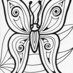 Printable Butterfly Coloring Pages for Adults   21740