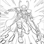 Printable Marvel Coloring Pages Loki   95n31