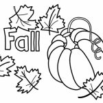 Pumpkin Coloring Pages for Preschoolers   74027