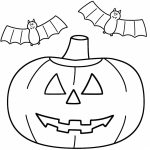 Pumpkin Halloween Coloring Pages for Preschoolers   74619