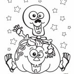 Scary Pumpkin Coloring Pages for Halloween   74na5