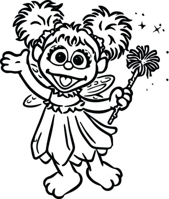 20 free printable sesame street coloring pages for Sesame street color pages