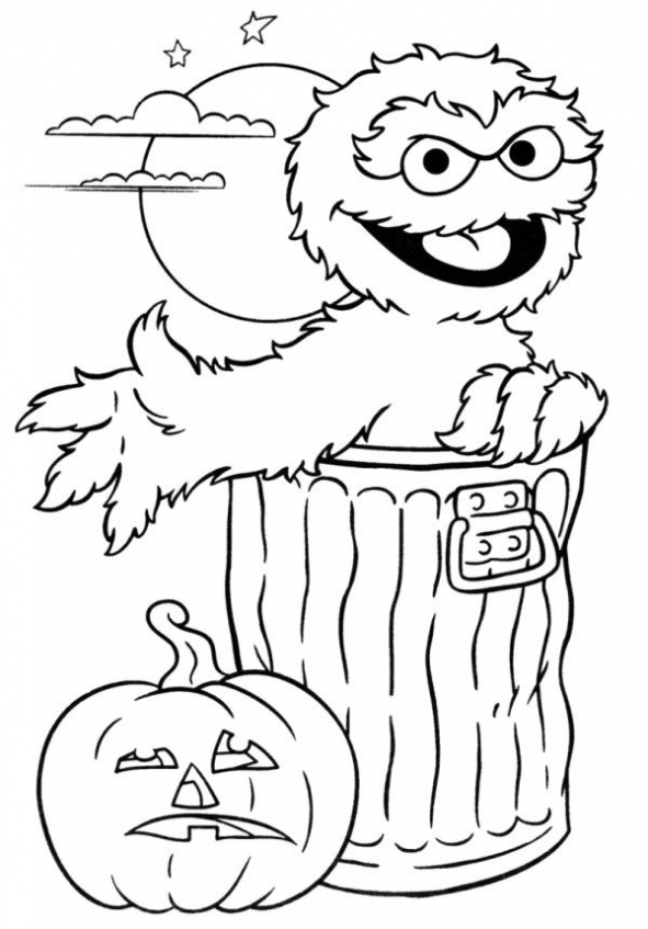 Sesame Street Coloring Pages to Print   saht7