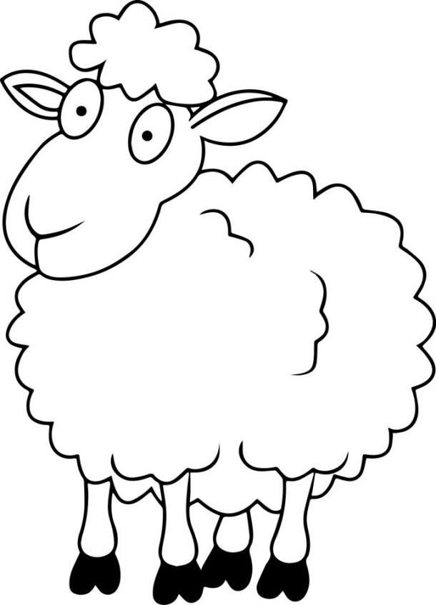 Sheep coloring pages preschool   lpec6