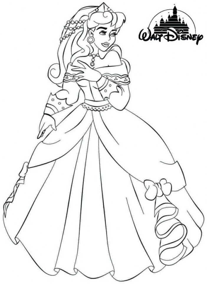 Sleeping Beauty Coloring Pages Disney Princess   3htpm