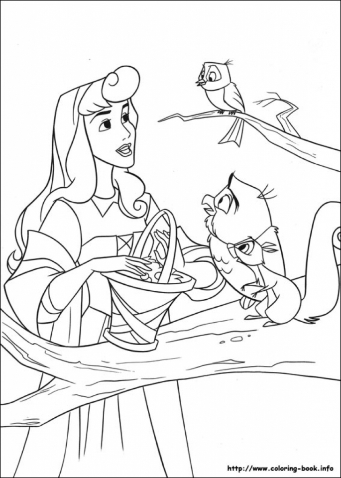 Sleeping Beauty Coloring Pages for Girl   0vbtl