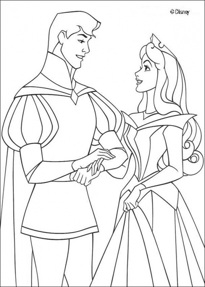 Sleeping Beauty Coloring Pages Free   4bthc