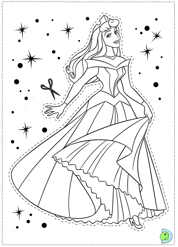 20+ Free Printable Sleeping Beauty Coloring Pages - EverFreeColoring.com