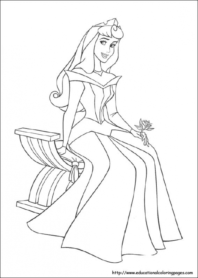 Sleeping Beauty Coloring Pages Princess Aurora   0fhtl