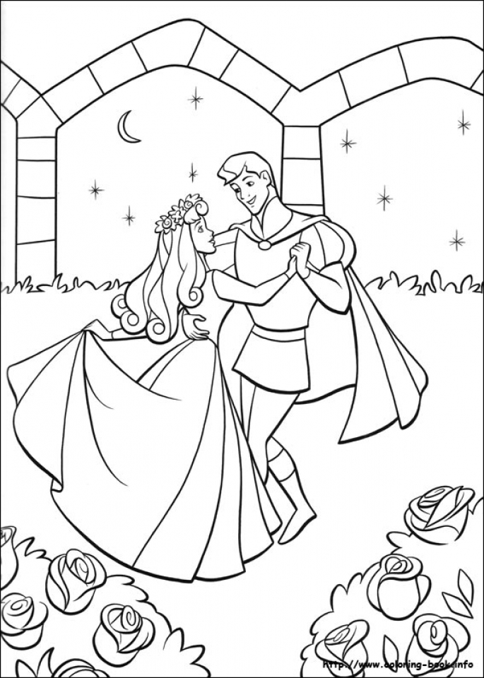 Sleeping Beauty Coloring Pages Princess Aurora   7dhem