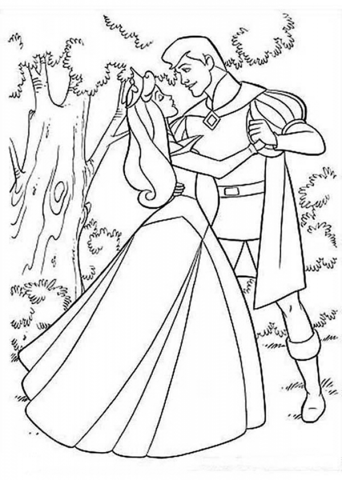 Sleeping Beauty Coloring Pages Printable   6wus7