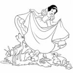 Snow White Coloring Pages for Girls   tzne8