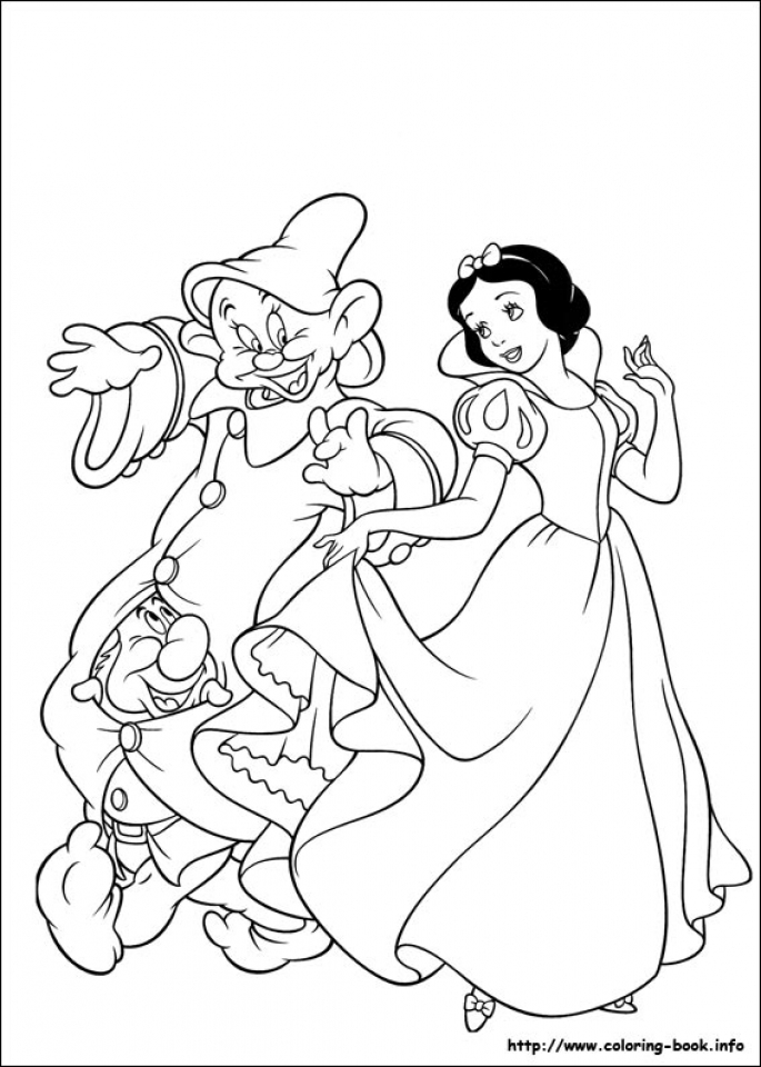 Snow White Coloring Pages Free   yc74n
