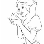 Snow White Coloring Pages Online   xg48v
